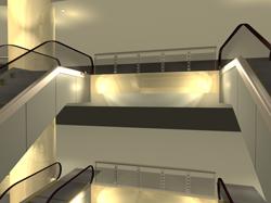 国贸广场内部(商场照明)3