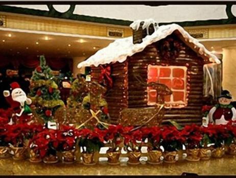 万博app手机版官网下载商场圣诞布置·商场圣诞...