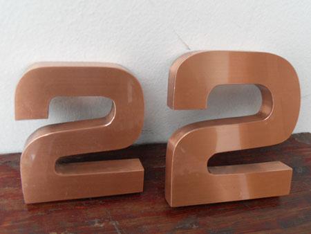 贵阳广告制作提供制作精品铜字